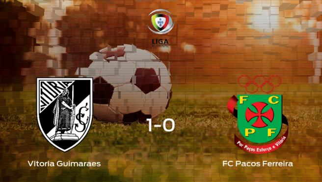 Los tres puntos se quedan en casa tras el triunfo del Vitória Guimarães frente al FC Pacos Ferreira (1-0)
