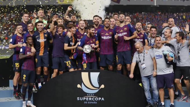 El Barça conquista la Supercopa de España 2018.