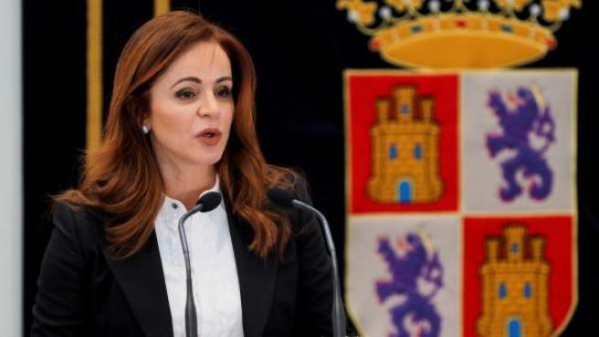 Silvia Clemente, en una comparecencia.