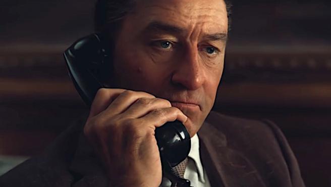 'El irlandés' publica imágenes de Robert De Niro rejuvenecido con CGI