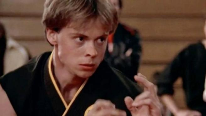 Rob Garrison, en el papel de Tommy en 'Karate Kid'.