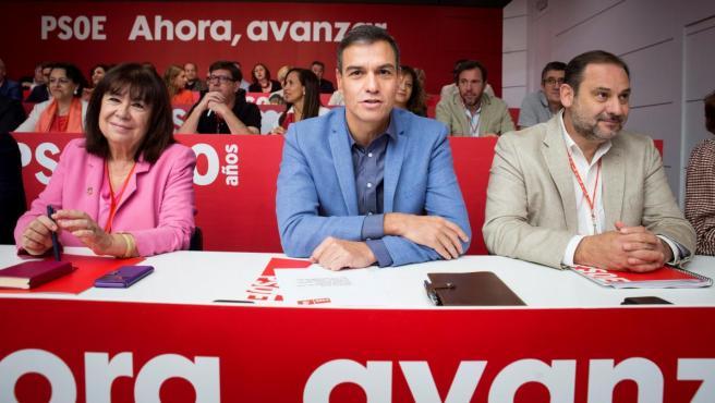 El secretario general del PSOE, Pedro Sánchez, ha reunido este sábado a su Comité Federal.