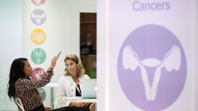 Imagen del Congreso anual de la Sociedad Europea de Oncología Médica (ESMO), celebrado en Barcelona.