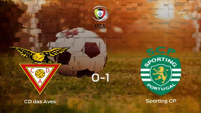 El Sporting CP se lleva tres puntos a casa tras vencer 0-1 al CD das Aves