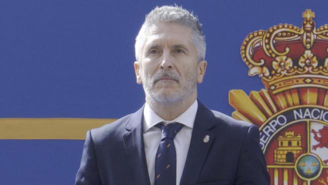 El ministro de Interior en funciones, Fernando Grande-Marlaska.