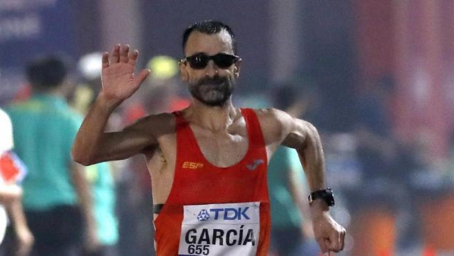 Jesús Ángel 'Chuso' García volvió a demostrar en Doha que es un marchador de leyenda.