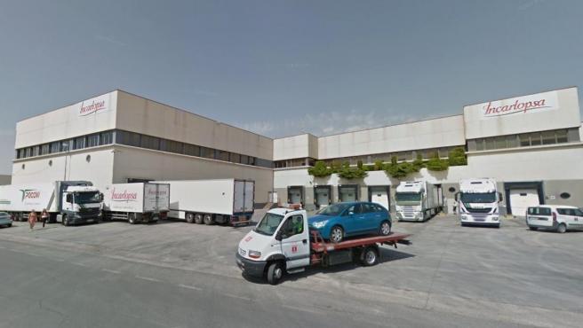 Imagen de una de las instalaciones de Incarlopsa, empresa que suministra los jamones de Mercadona.