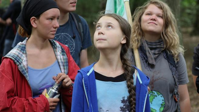 Imagen de archivo de Greta Thunberg.