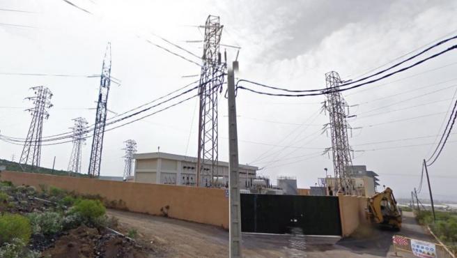 La subestación eléctrica de Granadilla de Abona, en Tenerife, en una imagen de archivo.
