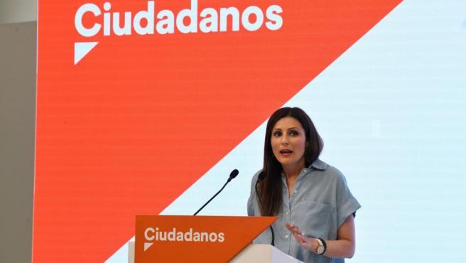 La portavoz nacional de Ciudadanos, Lorena Roldán.