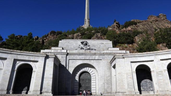 Vista del Valle de los Caídos, situado en el municipio madrileño de San Lorenzo de El Escoria.