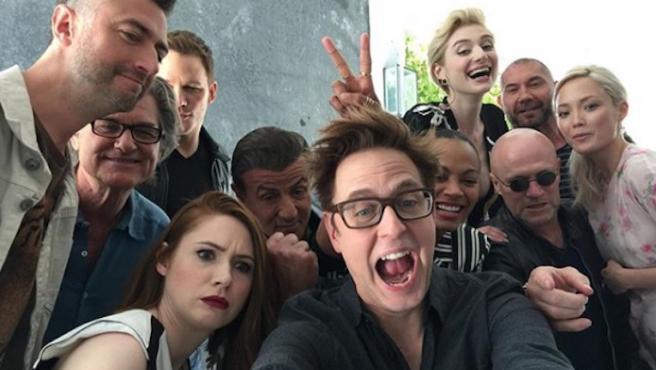 'The Suicide Squad': Marvel desea a James Gunn buen rodaje con el mejor regalo