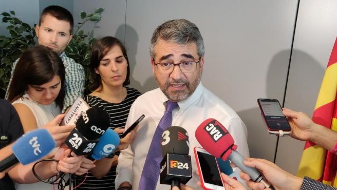 El director general de los Mossos d'Esquadra, Andreu Joan Martínez.