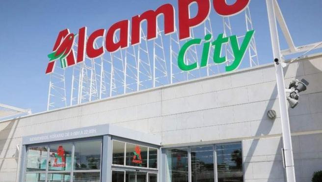 Un supermercado de Alcampo.