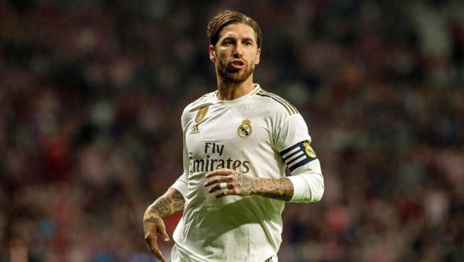 Sergio Ramos, capitán del Real Madrid.