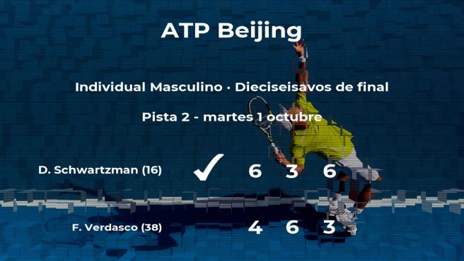Resultados De Tenis En Directo Partido Diego Sebastian Schwartzman Fernando Verdasco En Atp Beijing