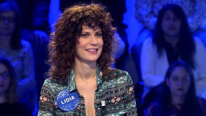 Lidia San José como invitada de 'Pasapalabra'.