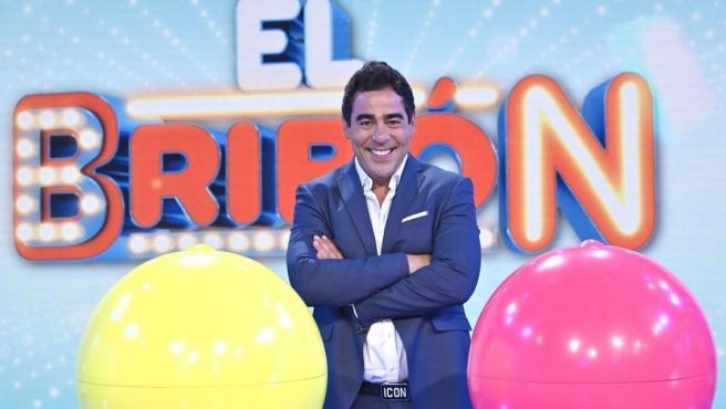 El actor y ahora presentador Pablo Chiapella, en el concurso 'El Bribón'.