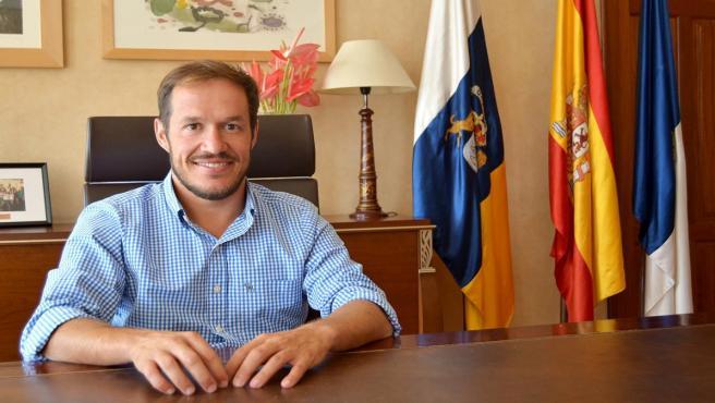 Presidente del Cabildo de La Palma, Mariano H. Zapata