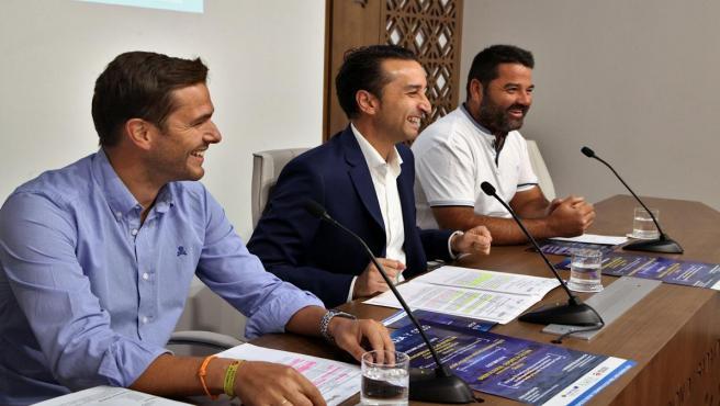Autoridades en la presentación del programa 'Alqueva, Agua y Cielo'