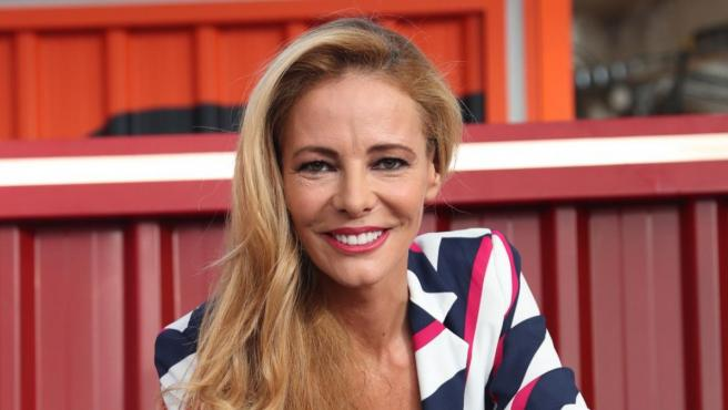 Paula Vázquez durante la presentación de 'Fama a bailar'.