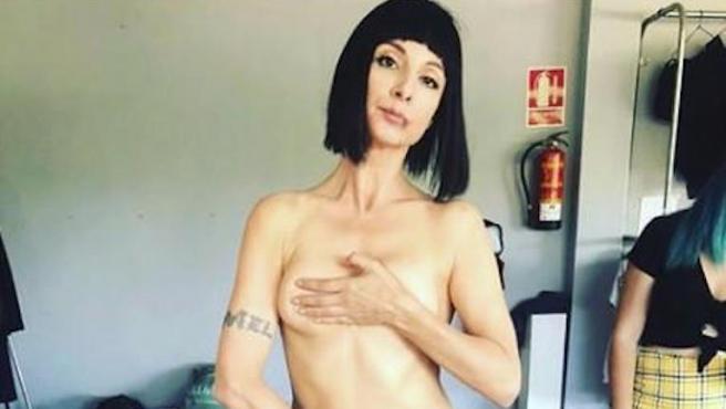 Najwa Nimri recupera el desnudo de 'Vis a vis' que Instagram le censuró