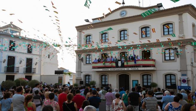 Foto de archivo de la Feria de Tíjola (Almería).
