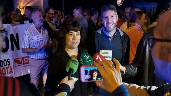 Carmen Álvarez, diputada provincial de IU