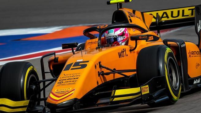 Jack Aitken, uno de los pilotos de Campos Racing en la Fórmula 2