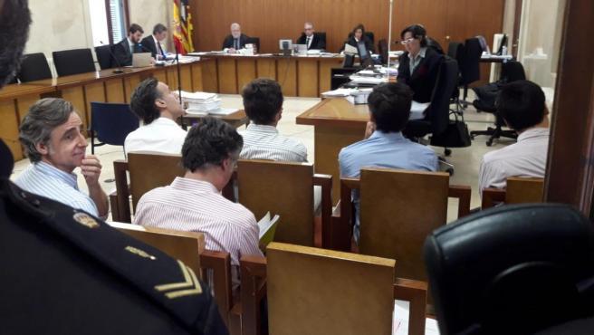 Juicio a los hermanos Ruiz-Mateos en Palma.