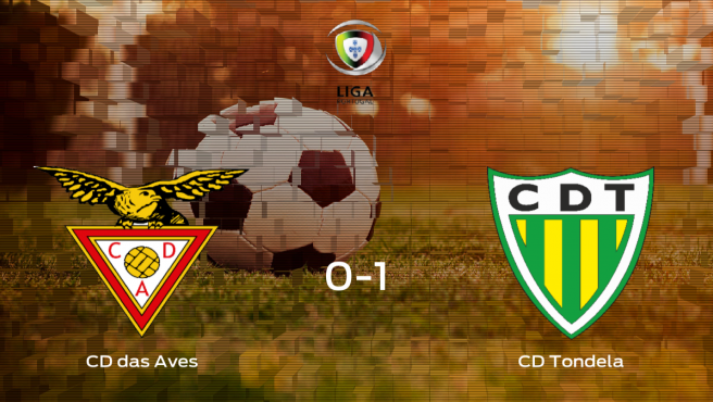 El Tondela vence 0-1 al CD das Aves y se lleva los tres puntos