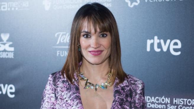 Irene Villa en el photocall de la película 'Yo soy Gennet' en Madrid.