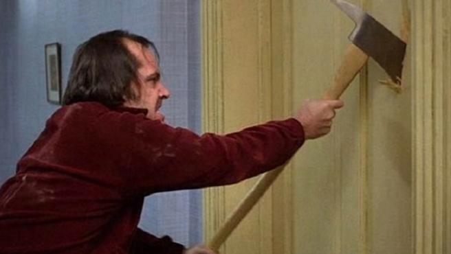 El hacha de Jack Nicholson en 'El resplandor', vendida por casi 200.000 euros