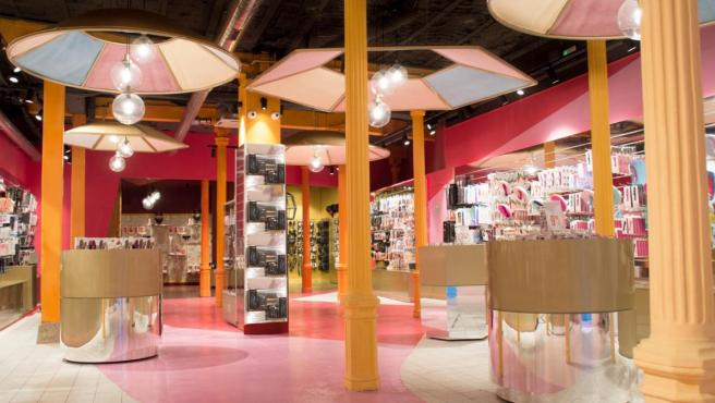 Interior de la tienda erótica Be Lover - Erotik Market (Madrid).