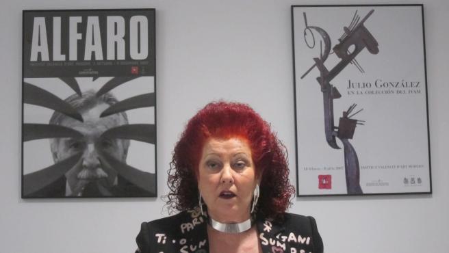 La directora del IVAM, Consuelo Ciscar.