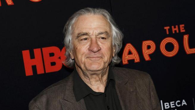 Imagen de archivo del actor Robert de Niro en la presentación en Nueva York del documental 'The Apollo'.