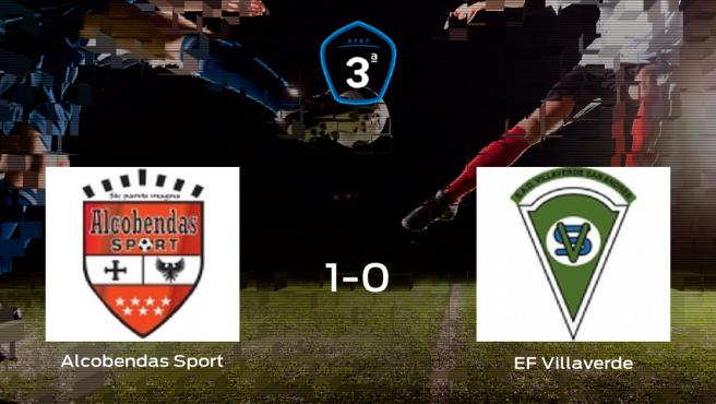 El Alcobendas Sport vence 1-0 al Villaverde y se lleva los tres puntos