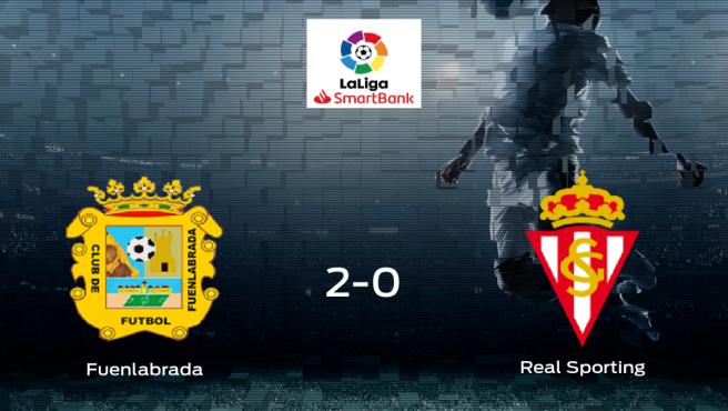 Tres puntos para el equipo local: CF Fuenlabrada 2-0 Real Sporting