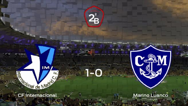 El Internacional logra la victoria después de derrotar 1-0 al Marino de Luanco
