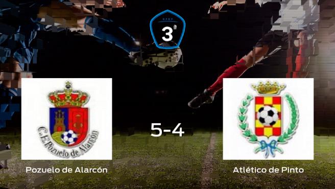 El Pozuelo de Alarcón gana 5-4 al Atlético de Pinto en el Valle de las Cañas