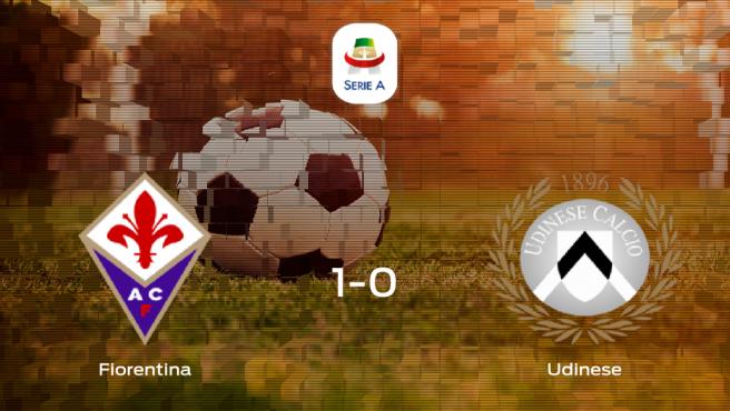 Triunfo de la Fiorentina por 1-0 frente al Udinese