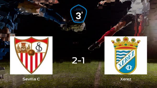 Tres puntos para el equipo local: Sevilla C 2-1 Xerez
