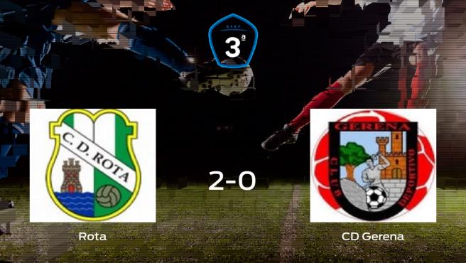 El Rota suma tres puntos a su casillero tras ganar al Gerena (2-0)