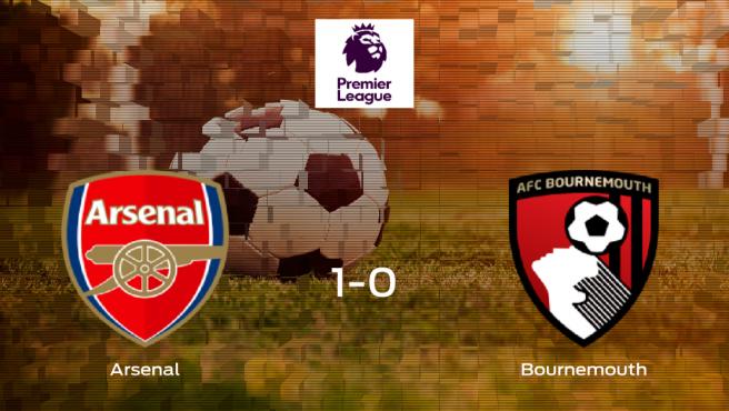 El Arsenal vence en casa al Bournemouth por 1-0