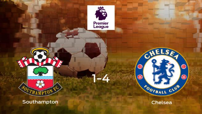 Sólido triunfo para el equipo de los 'Blues': Southampton 1-4 Chelsea