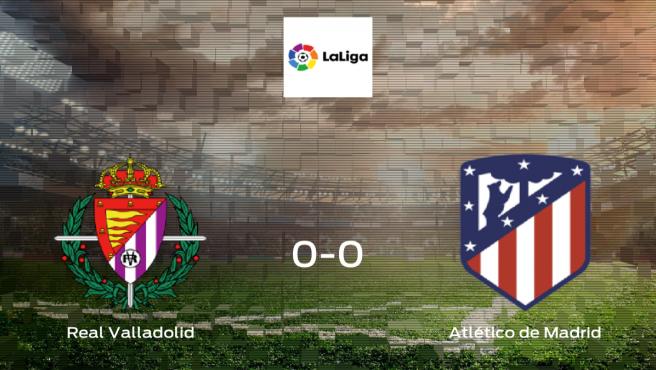 El Real Valladolid y el Atlético de Madrid se reparten los puntos en el José Zorrilla (0-0)