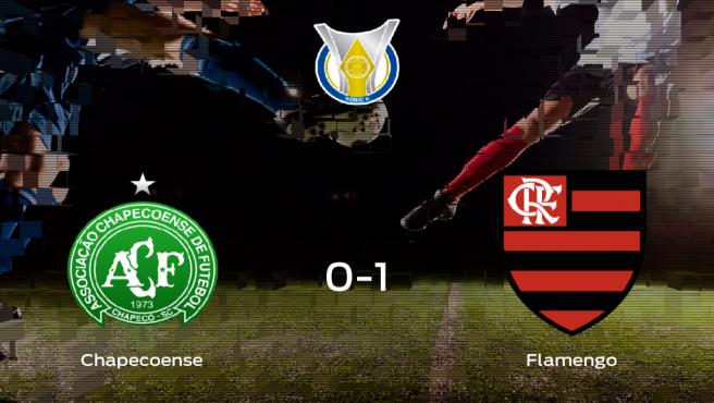 El Flamengo vence en el Arena Conda al Chapecoense (0-1)