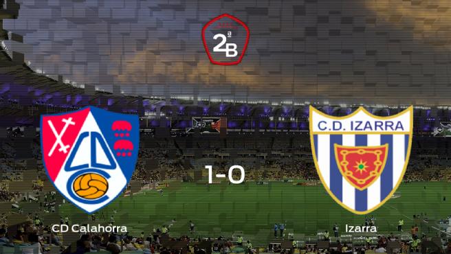 Los tres puntos se quedan en casa: Calahorra 1-0 Izarra