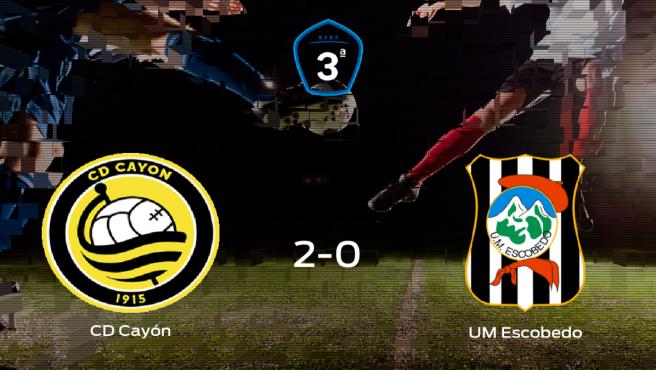 El Cayón derrota 2-0 al UM Escobedo y se lleva los tres puntos
