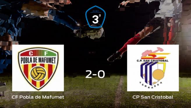 El CF Pobla de Mafumet consigue los tres puntos frente al CP San Cristobal (2-0)